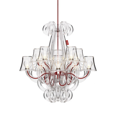 Rockcoco Chandelier Transparent