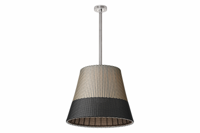 Romeo Outdoor C3 Pendant Light Panama, Tige 71 cm