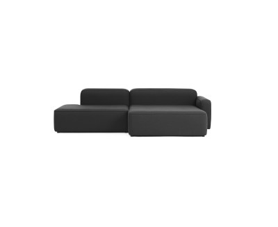 Rope Modular Sofa 420 Wide Chaise Lounge Left Armrest Fame 60005
