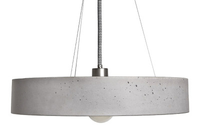 Rota Concrete Pendant Light 100 cm Cable Length