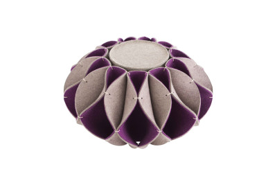 Ruff Pouf High Purple