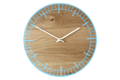 S2 Wall Clock Blue with White Hands