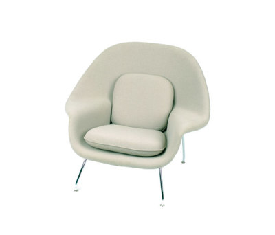 Saarinen Womb Chair with cushions - Divina 224 fabric 45SH x 92H x 106W x 94D cm