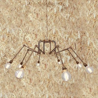 San Mateo Modern Chandelier Polished Brass