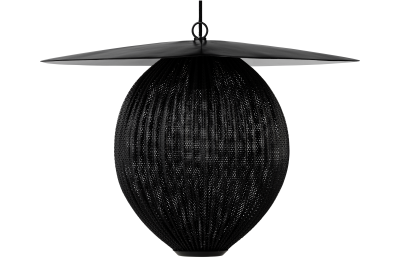 Satelitte Pendant Light Gubi Metal Rainy Grey, Large