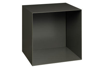 SB11 Dara Square Wallmounted Sideboard Jet Black