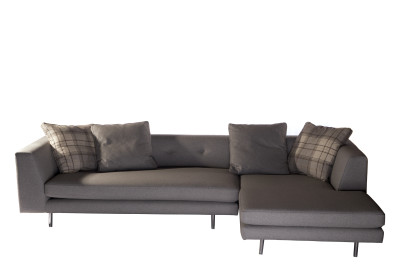 Scandi Sofa Light Grey