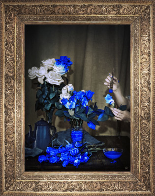 'Scent Of Cobalt' Canvas Scent Of Cobalt' Canvas
