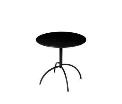 Segno Folding Round Table Indian Brown