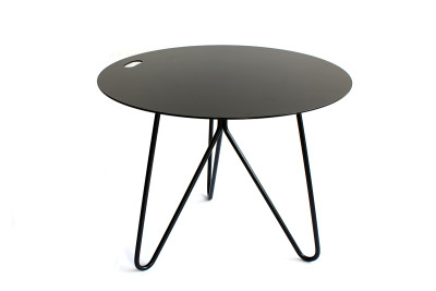 Seis Side Table Black