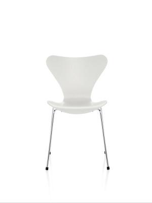 Series 7 Chair Coloured Ash White 105