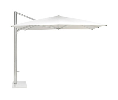 Shade Sunshade Without Base Matt White, Taupe