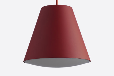 Sinker Pendant Light Red, Small