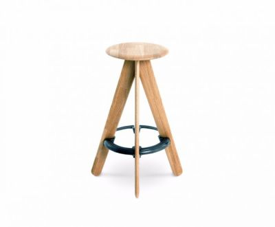 Slab Bar Stool Natural