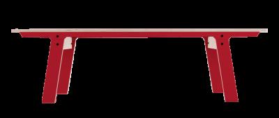 Slim Bench 01 Mid - Cherry Red