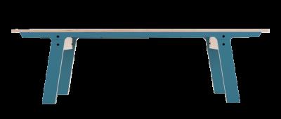 Slim Bench 01 Mid - Stone Blue Grey