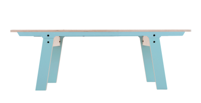 Slim 01 Small Bench Butterfly Blue