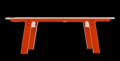 rform Slim Bench 01 Small - Foxy Orange