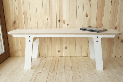 rform Slim Bench 01 Small - Snow White