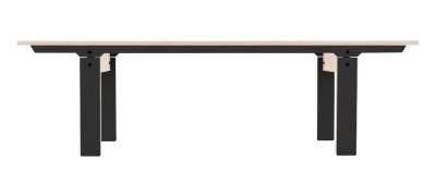 Slim Bench 04 Mid - Inky Black