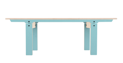 Slim 04 Small Bench Butterfly Blue