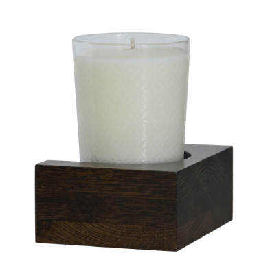 Slimline Candle Shelf Dark Oak