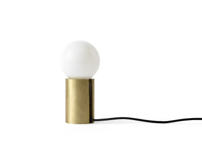 Socket Occasional Lamp Brushed Brass