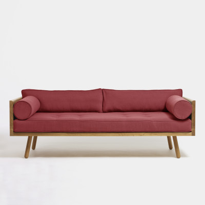 Sofa One Clyde Ruby
