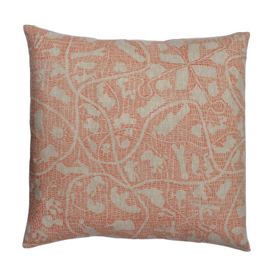 Sounds Around Square Cushion Orange