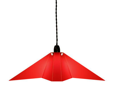 Splice Lamp Shade Red, Small