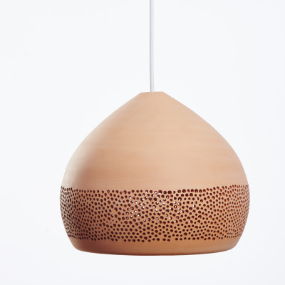 SpongeOh! Pendant Light Terracotta, 30 cm