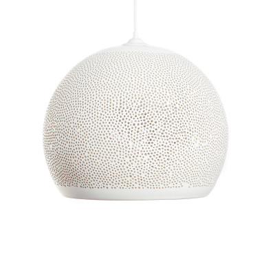SpongeUp! Pendant Light White, 40 cm