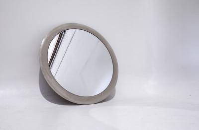 Spun Concrete Mirror Spun mirror