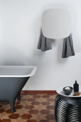 Square Towel Warmer White
