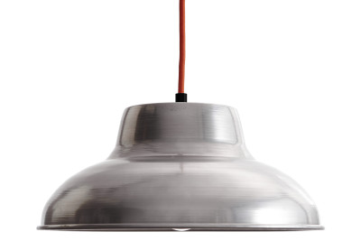 ST006 Industrial Pendant Light Red Cable