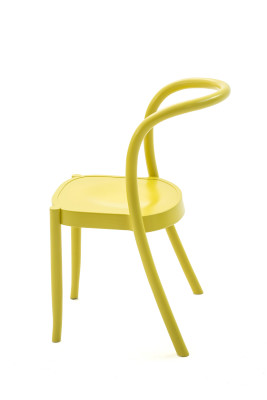 St. Mark Dining Chair - set of 2 Traffic white powder coated aluminium