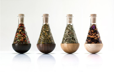 Stand-Up Herb Flasks - Set of 4
