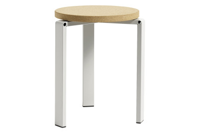 Stanley Stool Light Grey