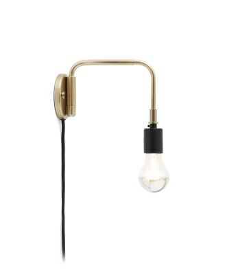 Staple Wall Light Brass
