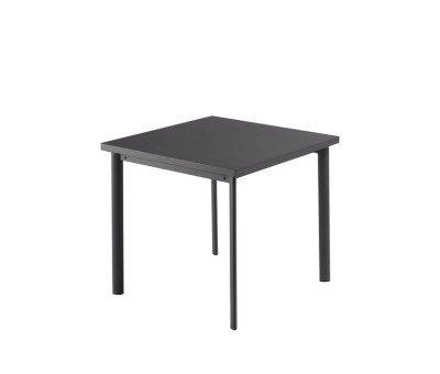 Star Square Table Corten, 90 x 90 x 75