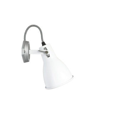 Stirrup  Single Wall Light White