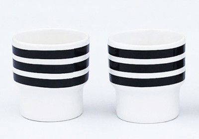 Stripes Egg Cups Set