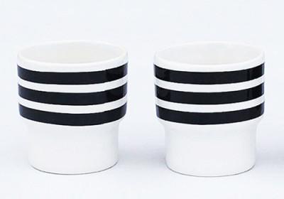 Stripes Egg Cups Set