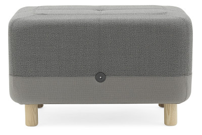 Sumo Pouf Light Grey