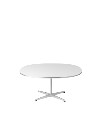Supercircular Coffee Table Walnut Veneer, 47/75/75