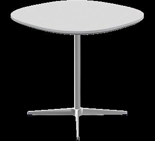 Supercircular Dining Table Veneer Walnut, 72/75/75