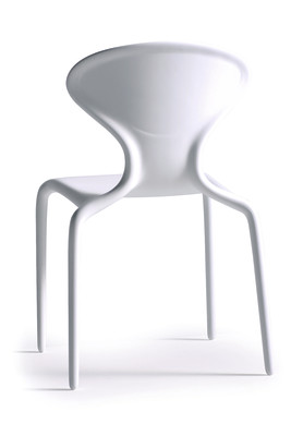 Supernatural Set of 4 Dining Chairs White