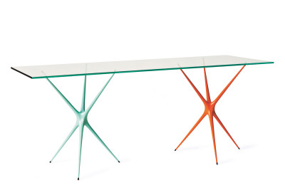 Supernova Desk Bright Orange