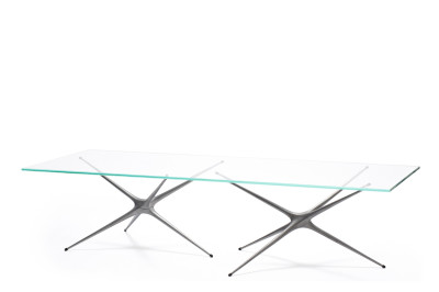 Supernova Low Table Raw Aluminium