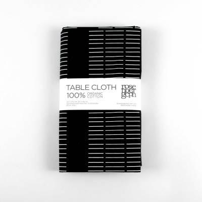 Table Cloth Dash Black
